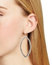 Chan Luu - Metallic Marquise Earrings - Lyst