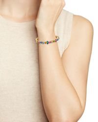 Aqua - Multicolor Stretch Bracelet - Lyst
