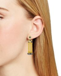 Freida Rothman - Multicolor Tassel Earrings - Lyst