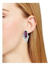 Uno De 50 - Multicolor Arrow Me Earrings - Lyst
