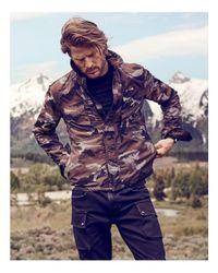 Belstaff - Multicolor Thorncroft Camo Jacket for Men - Lyst