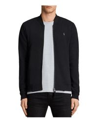 AllSaints - Black Bomber Jacket for Men - Lyst