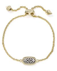 Kendra Scott Metallic Elaina Filigree Bracelet