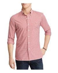 Polo Ralph Lauren | Red Plaid Cotton Clasic Fit Button-down Shirt for Men | Lyst
