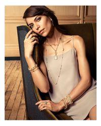 Freida Rothman - Metallic Gilded Cable Cuff - Lyst