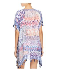 Surf Gypsy - Blue Grecian Tassel Tunic Swim Cover-up - Lyst
