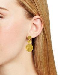 Chan Luu - Metallic Drop Earrings - Lyst