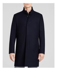 Theory - Black Belvin Vp Voedar Coat for Men - Lyst