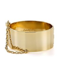 Rebecca Minkoff | Metallic Chain Handcuff Bracelet | Lyst