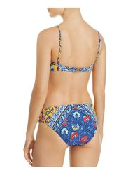 Nanette Lepore - Blue Woodstock Enchantress Bikini Top - Lyst