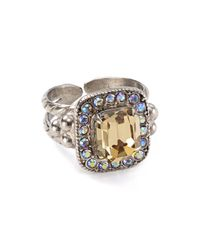 Sorrelli - Multicolor Statement Cocktail Ring - Lyst