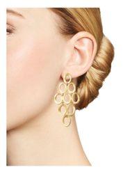 Ippolita - Metallic 18k Yellow Gold Open Cascade Earrings - Lyst