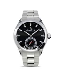 Alpina - Metallic Horological Stainless Steel Smartwatch for Men - Lyst