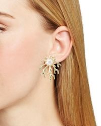Kendra Scott - Metallic Hattie Earrings - Lyst