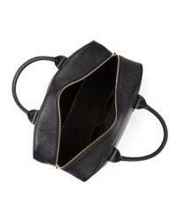 Paul Smith - Black Webbed Strap Leather Duffel Bag for Men - Lyst