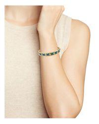 Tory Burch - Multicolor Raised Logo Cuff - Lyst