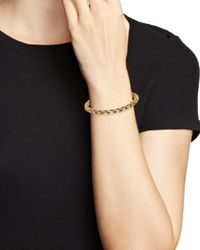 Bloomingdale's - Metallic Polished Curb Link Bracelet In 14k Yellow Gold - Lyst