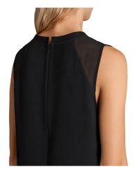 AllSaints - Black Jay Dress - Lyst