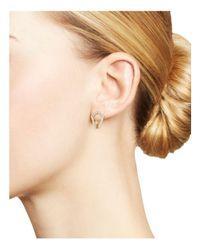 Dana Rebecca - Metallic Sarah Leah Diamond Huggie Earrings - Lyst