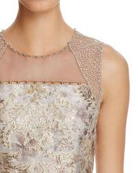 Elie Tahari - Multicolor Vera Illusion Brocade Dress - Lyst