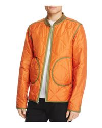 Ovadia And Sons - Multicolor Reversible Quilted Bomber Jacket for Men - Lyst