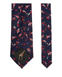 Ted Baker - Blue Fish Print Silk Tie for Men - Lyst