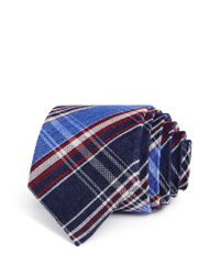 Alexander Olch - Blue Multi Plaid Classic Tie for Men - Lyst