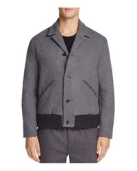 Barena - Gray Varsity Jacket for Men - Lyst