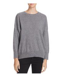 Equipment - Gray Melanie Cashmere Sweater - Lyst