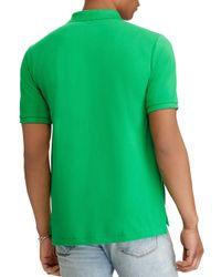 Polo Ralph Lauren - Green Classic-fit Mesh Polo Shirt for Men - Lyst