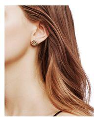 John Hardy | Metallic 18k Yellow Gold Legends Cobra Stud Earrings | Lyst