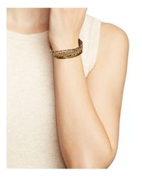Chan Luu - Brown Adjustable Beaded Bracelet - Lyst