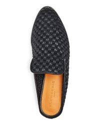 Clergerie Black Robert Women's Alice Woven Mules