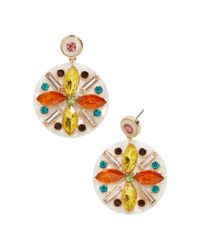 BaubleBar - Multicolor Safiya Resin Drop Earrings - Lyst