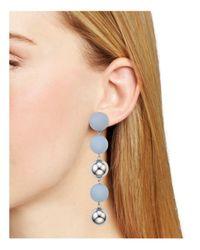 Aqua - Multicolor Natalie Ball Earrings - Lyst
