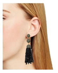 BaubleBar - Black Tinsley Tassel Drop Earrings - Lyst