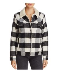 Levi's - Multicolor Wool Boyfriend Sherpa Trucker Jacket - Lyst