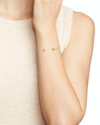 Argento Vivo - Metallic Memory Wire Round Pave Cuff Bracelet - Lyst