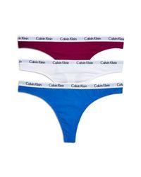Calvin Klein - Blue Set Of 3 - Lyst