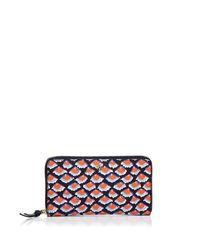 Tory Burch | Multicolor Kerrington Zip Continental Wallet | Lyst