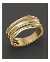 Ippolita - Metallic 18k Gold Glamazon Triple Band Squiggle Ring - Lyst