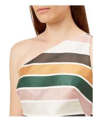 Hobbs - Multicolor Violette One-shoulder Dress - Lyst