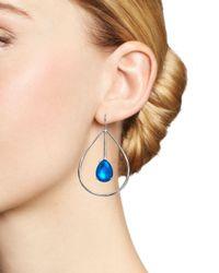 Ippolita - Metallic Sterling Silver Rock Candy® Wonderland Large Pear Shape Drop Earrings In Ultramarine - Lyst
