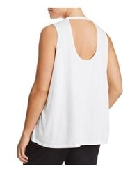 Lucky Brand - White Pink Floyd Distressed Tank - Lyst