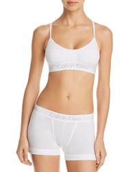 Calvin Klein - White Body Multi-way Convertible Wireless Bralette - Lyst