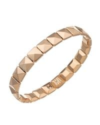 Chimento | Pink 18k Rose Gold Armillas Collection Square Link Bracelet | Lyst