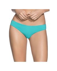 Maaji Blue Aquatic Sublime Reversible Hipster Cut Bottom