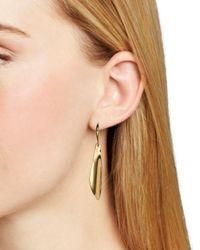 Robert Lee Morris - Metallic Sculptural Drop Earrings - Lyst