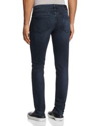 PAIGE - Blue Lennox Slim Fit Jeans In Beckett for Men - Lyst