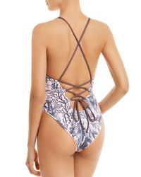Maaji - Multicolor Jungle Candies One-piece Reversible Swimsuit - Lyst